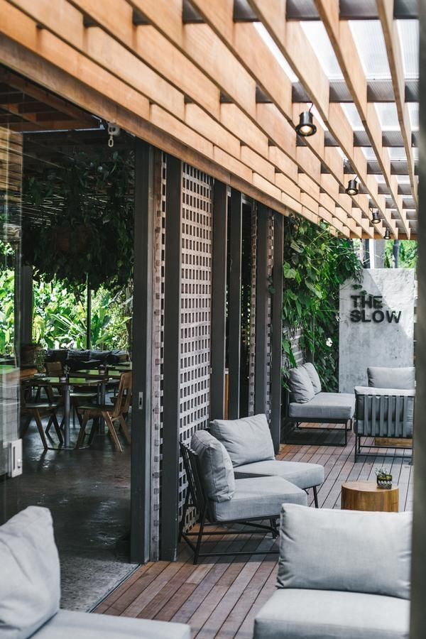 The Slow Surf Hotel In Canggu Bali In 2020 Surfing Hotel Interactive Retail