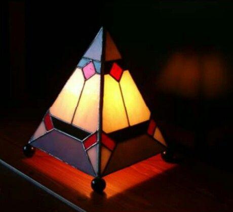 Tafellampje Eigen ontwerp