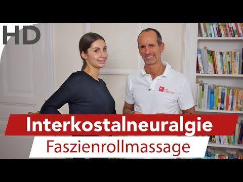 Übungen Faszienrolle Interkostalneuralgie - Brustschmerzen, Rippen, Faszien, Faszientraining LNB Schmerztherapie