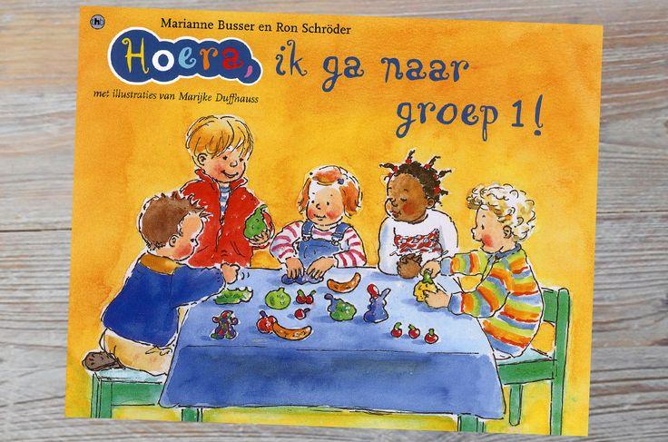 Leuk boek voor kinderen die bijna naar school gaan! Maar ook herkenbaar voor herkenbaar voor kinderen uit groep 1