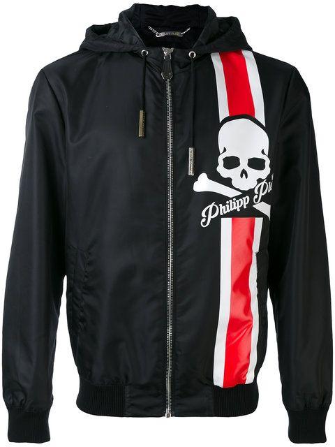 PHILIPP PLEIN hooded jacket. #philippplein #cloth #jacket