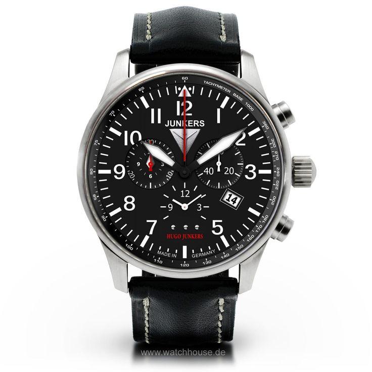 Junkers 150 Jahre Hugo Junkers Alarm-Chronograph 6684-2