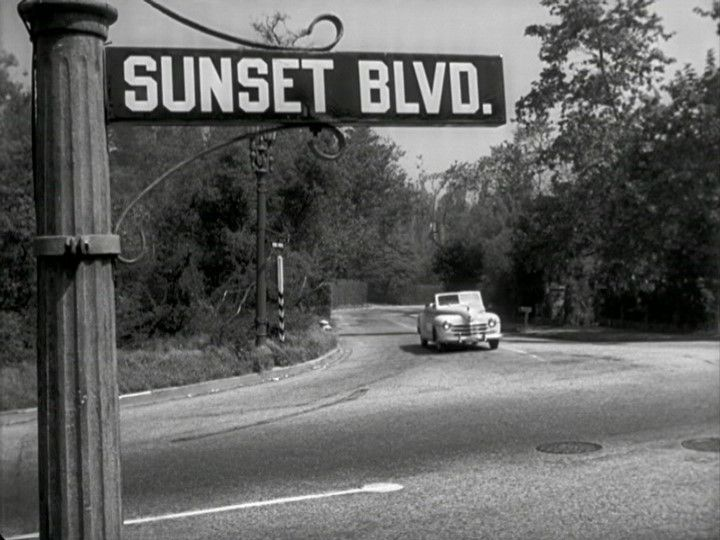 SO starts the diary of a dead man on SUNSET BLD. (1950) | Golden Age of Hollywood