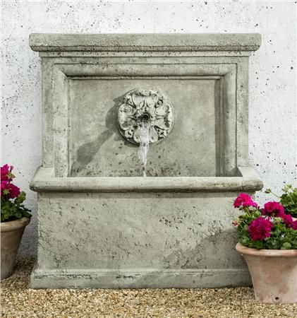 Large Outdoor Wall Fountains 58 best fountains images on pinterest