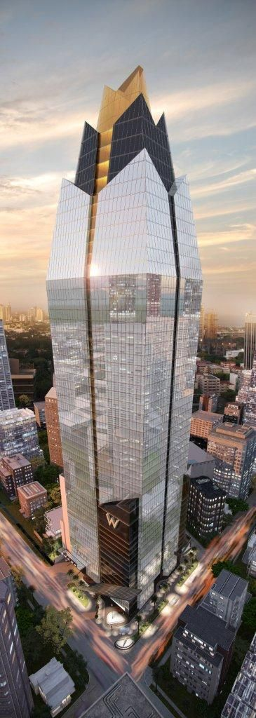 W Hotels, recientemente anunciado por W Panamá, para inaugurar en 2016 .