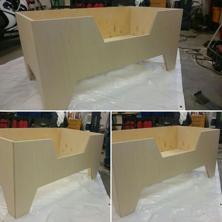 Wood work. Baby bed by Jante 2016