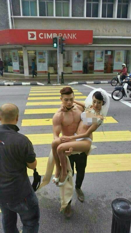 Info Keluarga Cyber: Ipoh : Sesi Fotografi Perkawinan Yang Pelik (Video dan Gambar)