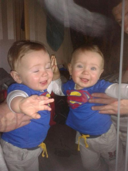 from unexplained mysteries: Uploader comment: Hi all, new to this wonderful forum. I can say 100% its not fake.....A little boys reflection in the mirror, however boys eyes are closed, yet reflection of boy eye's are opened....Also a strange orb like mist above his head......