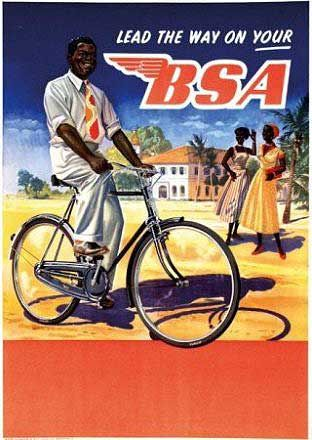 BSA Bicycle Poster Kenya cycling motivation, cycling posters, cycling, cycling…