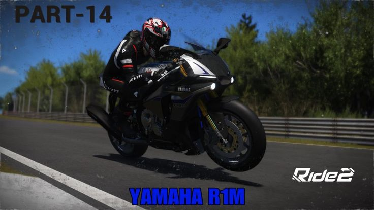 RIDE 2 PS4 bike racing game Part 14| Lightning fact lap on YAMAHA R1M at NORDSCHLEIFE |Video on demand.