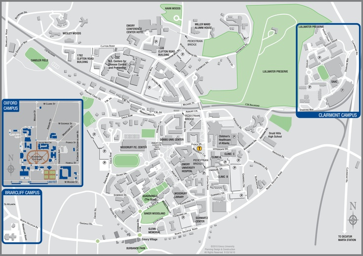 Learn how Emory University has taken huge steps towards sustainable and green living through Sustainability Initiatives. Map of campus with sustainable points of interest (tree tour, historical markers, LEED certified buildings, etc.)