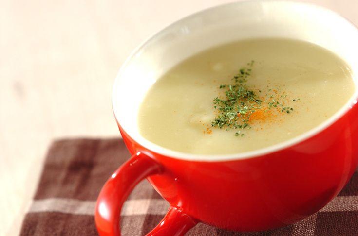 サツマイモのポタージュスープのレシピ・作り方 - 簡単プロの料理レシピ | E・レシピ