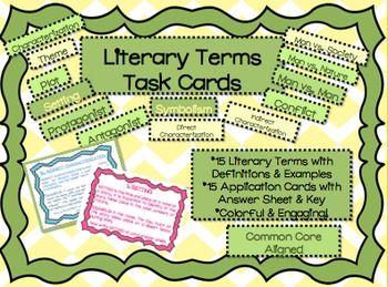 literary terms in english literature pdf