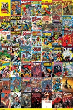 Marvel Comics Regular Poster (01-6038)