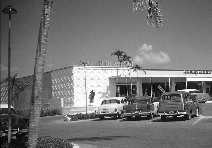 Saks Fifth Avenue - Fort Lauderdale, Sunrise Shopping Center, (1954-1980, SF: 30,000).  This store was replaced by The Galleria at Fort Lauderdale (1980, SF: 74,000).  Courtesy of The Department Store Museum: Saks Fifth Avenue, New York City, New York
