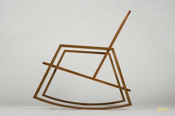 """Rokur"" rocking chair by John W. Hadlock, PurposeInc"