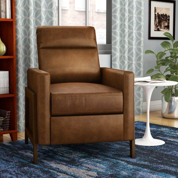 Zipcode Design Parley Manual Recliner Reviews Wayfair Recliner Chaise Lounge Chair Furniture