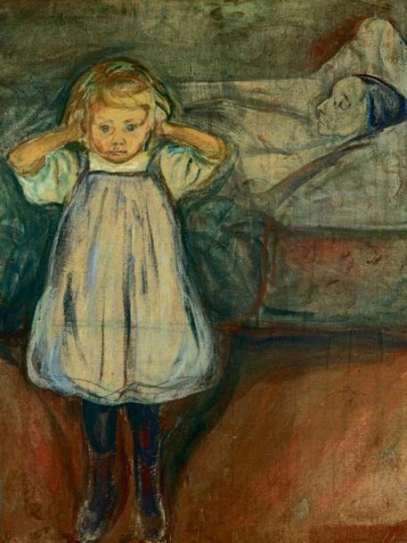Edvard Munchs, 'Das Kind und der Tod'                                                                                                                                                      More