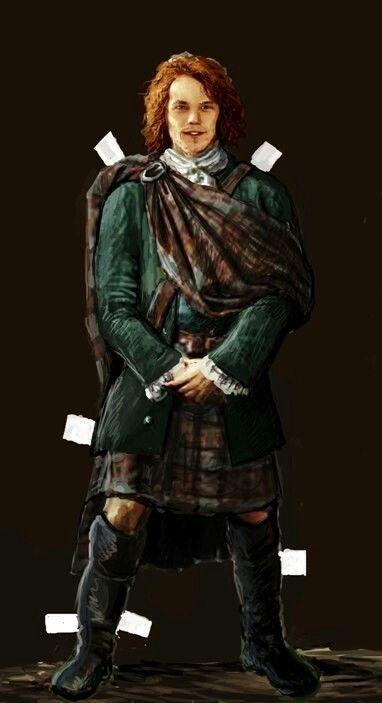 Джеийми Outlander: Jamie Fraser Paper Doll