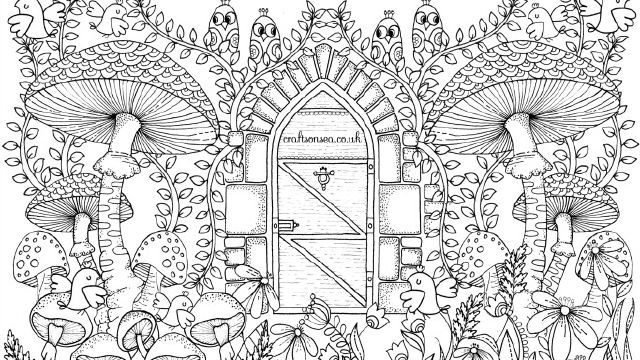 free printable secret garden coloring pages | Bildergebnis für Inspirational coloring pages from Secret ...