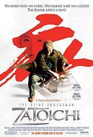 The blind masseur/swordsman comes to a town in control of warring gangs, and while bunking with a farming family, he meets two women with their own agenda.