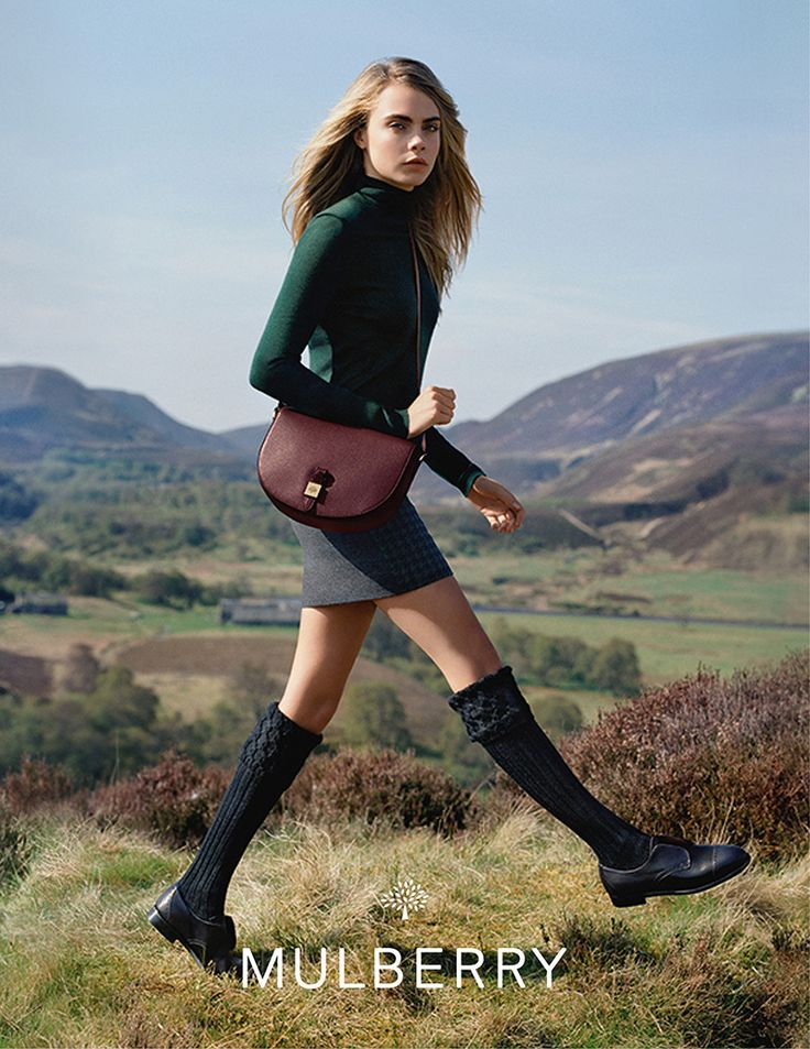 Cara Delevingne Mulberry Campaign AW14 09 Mulberry AW14 Campaign