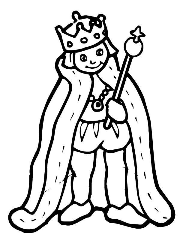 Картинка король трафарет