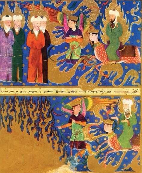 :::: PINTEREST,COM christiancross :::: Uighur Manichaean Miniatures