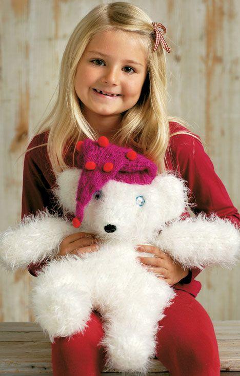 Den søde lille isbjørnebamse er inspireret af isbjørneungen Knut, som kom til verden i Berlins zoologiske have i 2006.