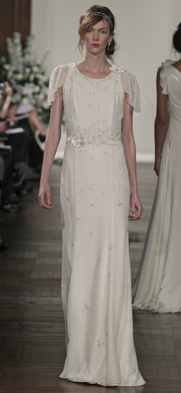 #JennyPackham #Wedding Dress - Hibiscus