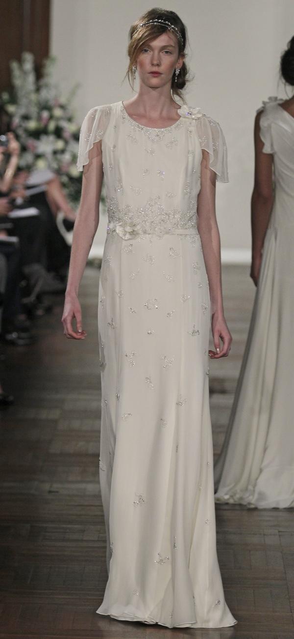 #JennyPackham #Wedding Dress - Hibiscus