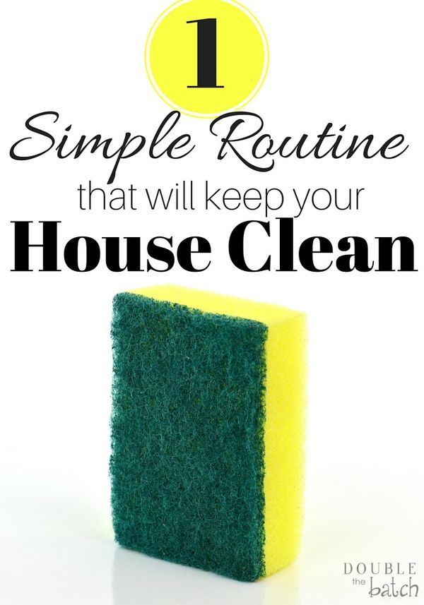 I am still so amazed at how such a simple thing has made such a difference in keeping our house clean!
