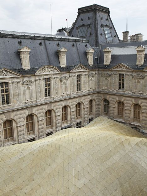Department of Department of Islamic Arts at Louvre by Mario Bellini and Rudy Ricciotti