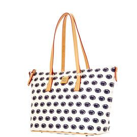 NCAA College basket/ March Madness | Dooney & Bourke | NCAA Penn State Zip Top Shopper  NCAA | Basketball Handbag | Basketball Accessory | Basketball Accessories | Basketball Purse | Fashion | Style