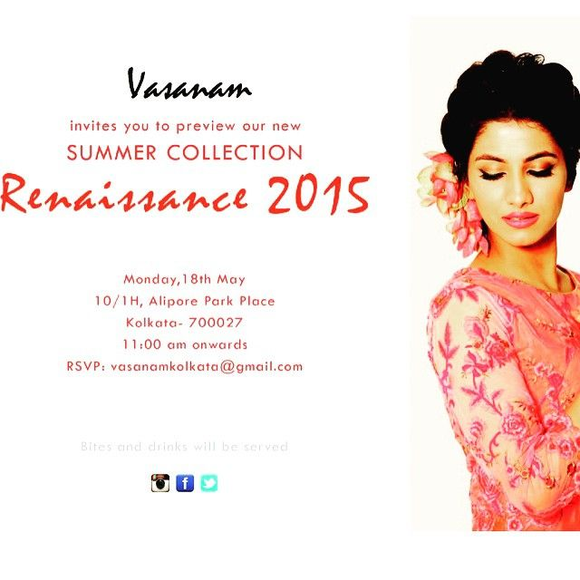 BlabberCat recommends Vasanam: Don't miss out on this big spring/summer fashion exhibition in Alipore... From everyday wear to resort and formal wear.. Update your wardrobe and get the best deals. @vasanamkolkata #eventoftheday #exhibition #ethnicwear #light #summer #calcutta