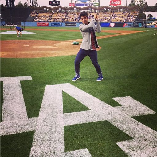 Welcome the New #Dodgers player! #pierobarone #losangeles #baseball #NacionalAnthem