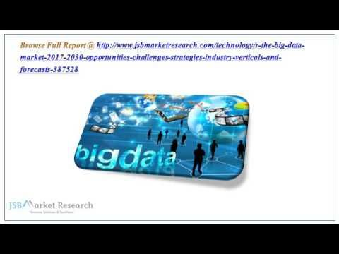 The Big Data Market Research Report 2017-2030