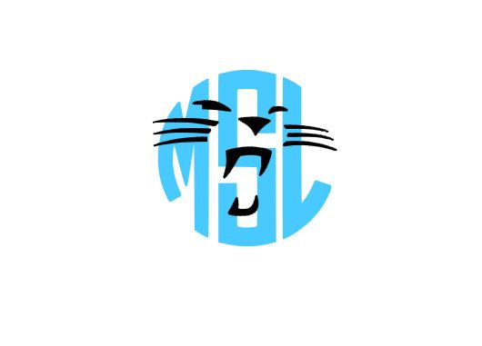 Carolina Panthers Monogram