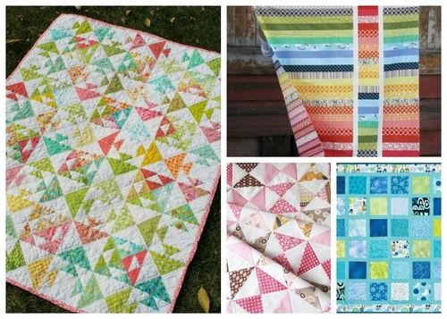 40+ Free Baby Quilt Patterns | Want to try your hand at quilting? Then you'll love these free quilt patterns from our sister site!