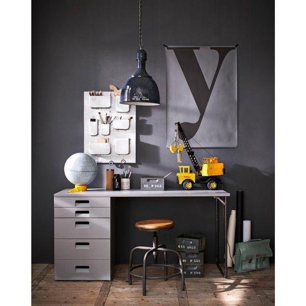 @vtwonen Store tafel 150x60 #Store #hout #tafel #bureau #bureautafel #bureaukast #design #Flinders