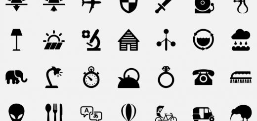 NounProject has 100′s of beautiful, free pictographs for Web and mobile design
