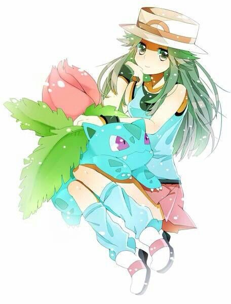 Type B Anime Characters : Ivysaur and leaf pokemon pinterest leaves