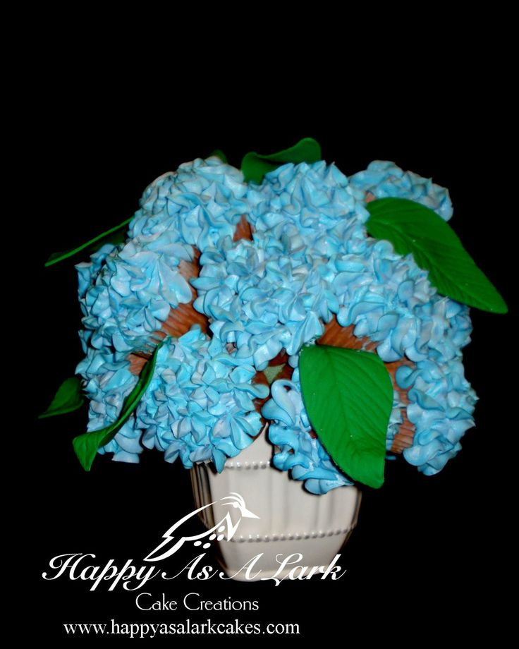 Hydrangea Cupcake Centerpiece : Best images about my cakes on pinterest zebra print