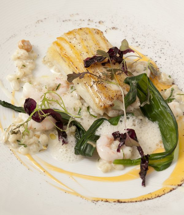 This skate with Sauternes sauce recipe provides a wonderfully balanced dish. - Agnar Sverrisson