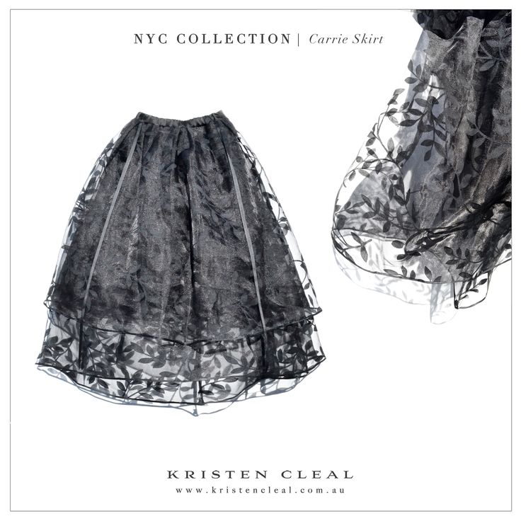 Carrie Skirt by Kristen Cleal Designs  Shop our online store at www.kristencleal.com.au