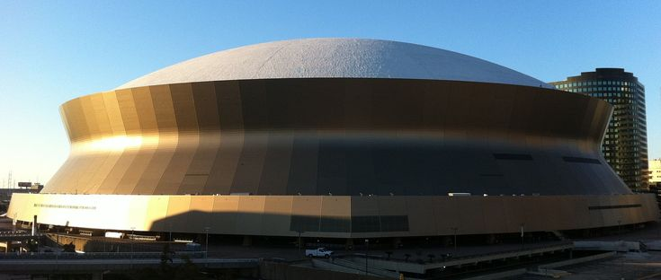 Mercedes-Benz Superdome, often referred to simply as the Superdome, is a domed sports and exhibition venue located in the Central Business District of New Orleans, Louisiana, United States. It primarily serves as the home venue for the New Orleans Saints  https://www.fanprint.com/licenses/new-orleans-saints?ref=5750