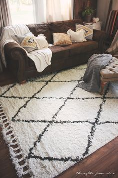 Boho Chic Living Room Makeover: Finding The Perfect Rug