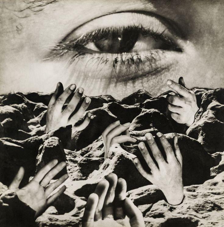 """""""El ojo eterno"""" (1950). Obra de Grete Stern (1904-1999). """"The eternal eye"""" (1950). Work by Grete Stern (1904-1999)."""