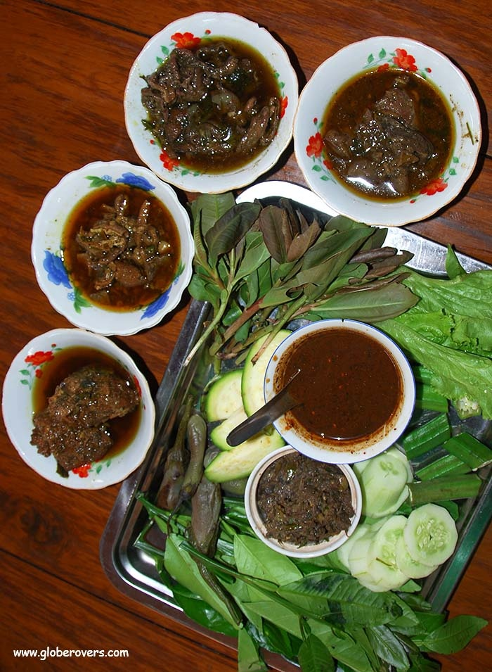 a traditional meal in myanmar The sound of this cheerful greeting echoes throughout the busy streets and local shops in myanmar burmese food primer: essential dishes to breakfast meal.