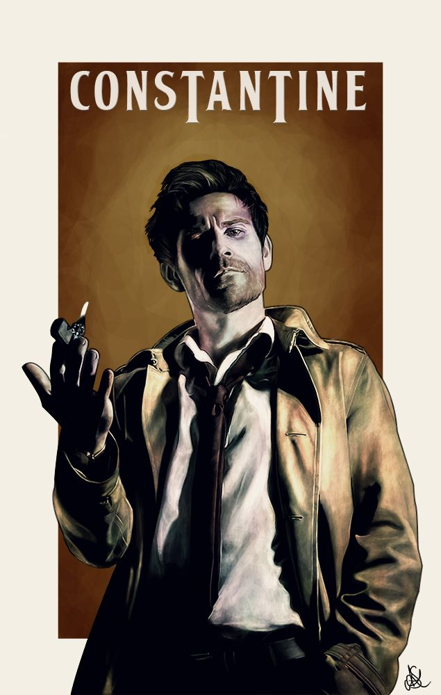 Yet another commission for the wonderful ! She was a tad stumped this month on what to get. So I suggested another go at Constantine! Had fun with this one! Enjoy! John Constantine belongs to Verti...